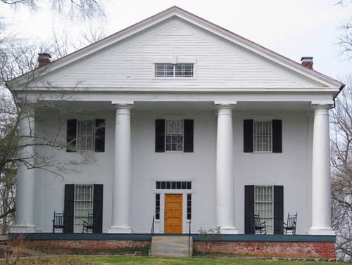 Bulloch Hall, front facade