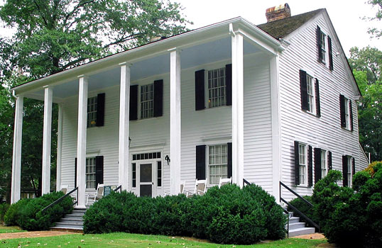 Archibald Smith House (Gentry, 1844-45), substantially remodeled in 1940