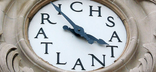 Rich's department store clock